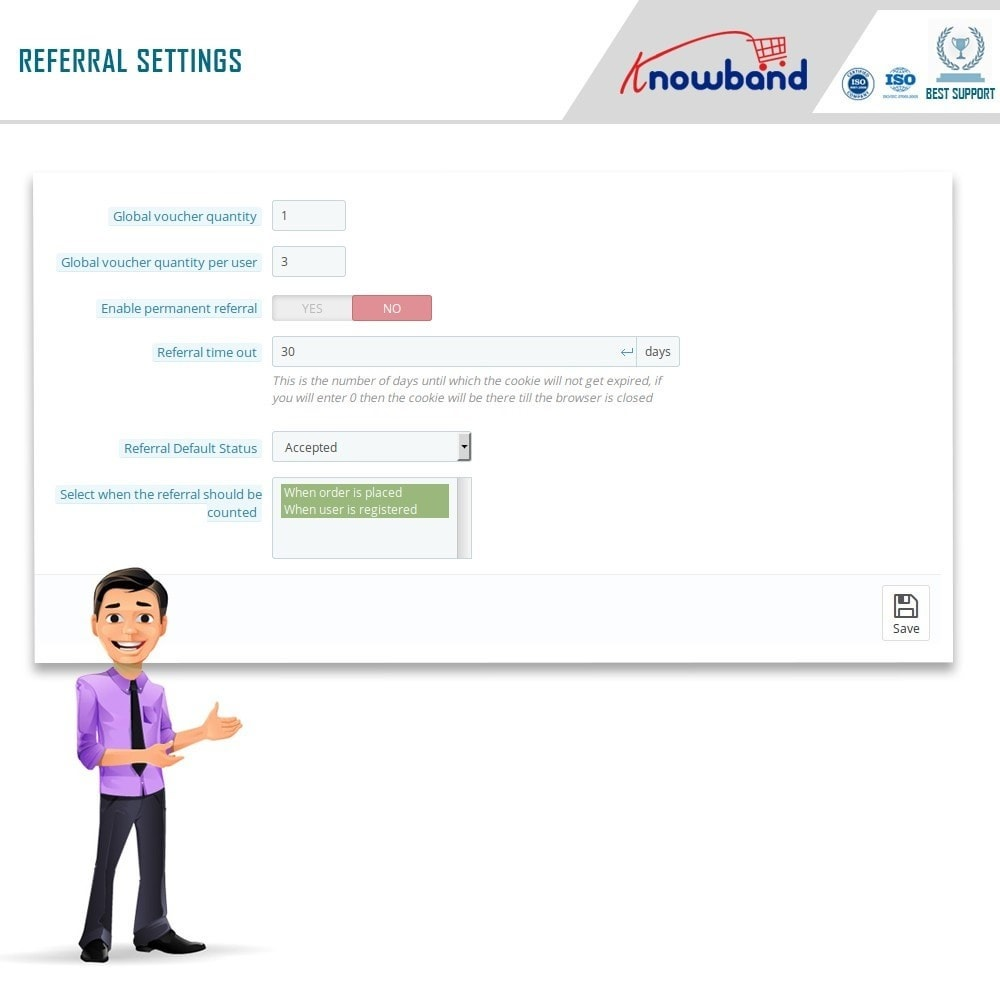 module - Referral & Loyalty Programs - Knowband - Affiliate and Referral Program - 10
