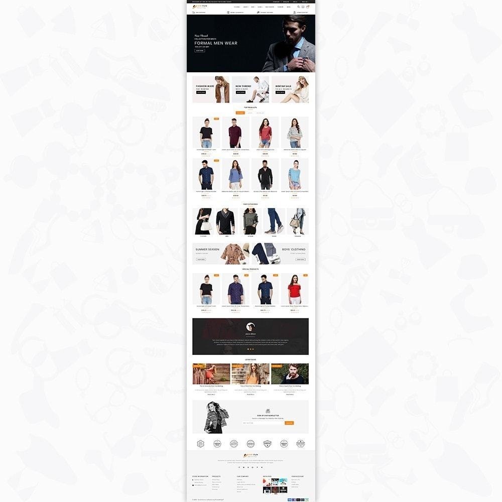 theme - Fashion & Shoes - LookStyle - The Fashion Store - 2