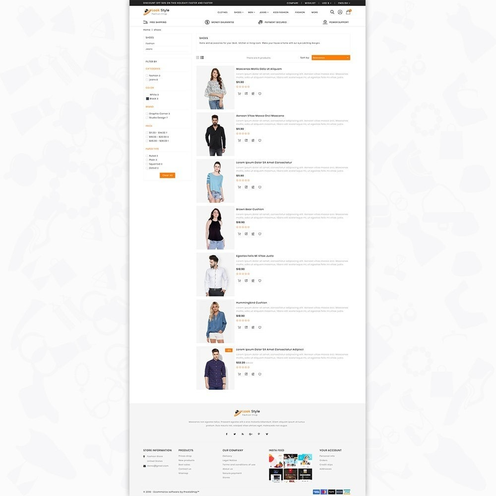 theme - Fashion & Shoes - LookStyle - The Fashion Store - 4