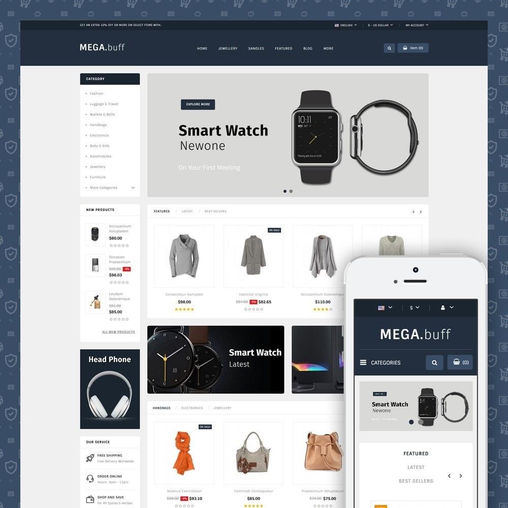 theme - Fashion & Shoes - Mega Buff - Multi purpose store - 1