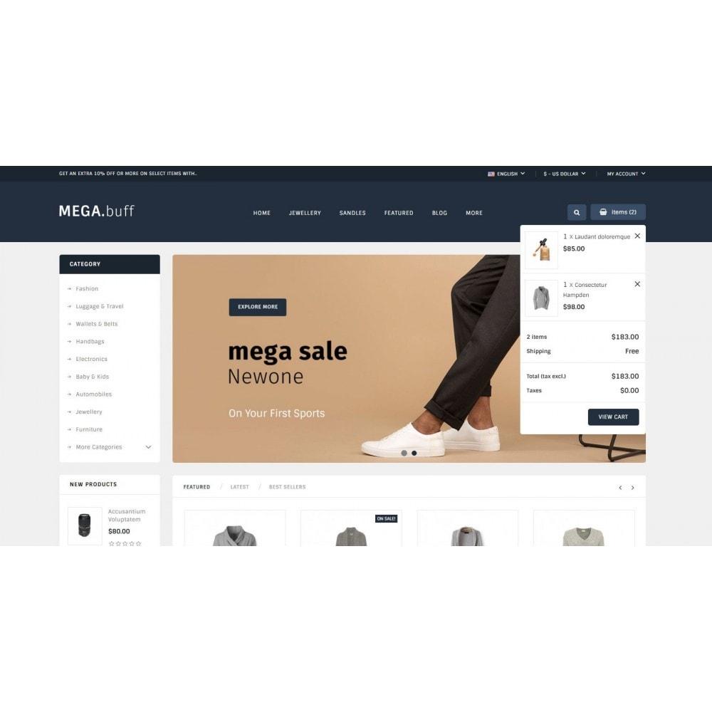 theme - Fashion & Shoes - Mega Buff - Multi purpose store - 6