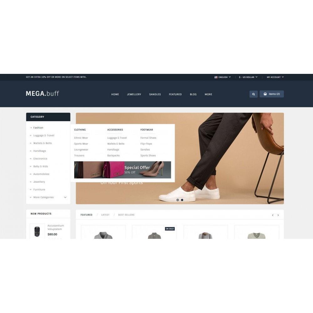 theme - Fashion & Shoes - Mega Buff - Multi purpose store - 8