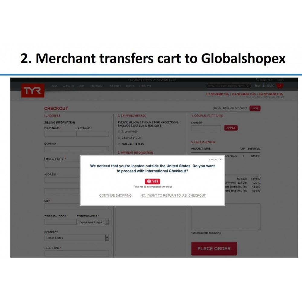 service - Shipping Costs - GlobalShopex Cross Border - 2