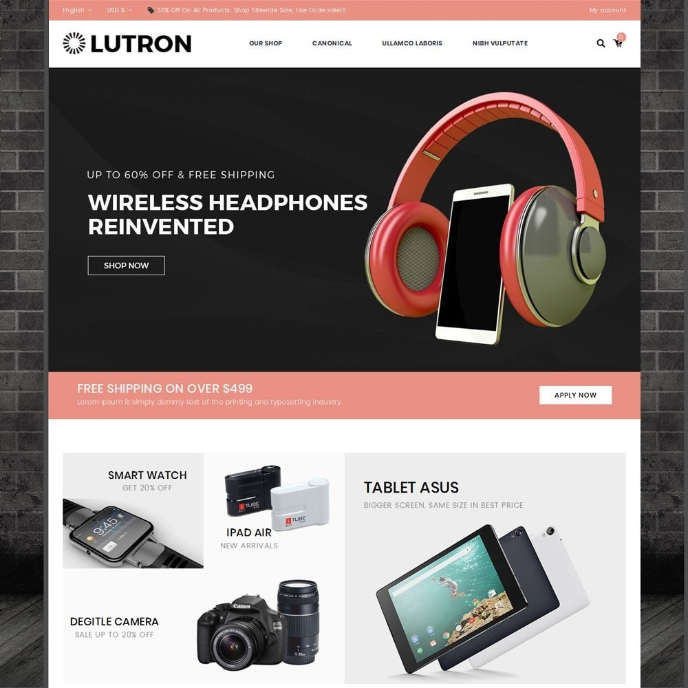 Lutron - The Electronic Store