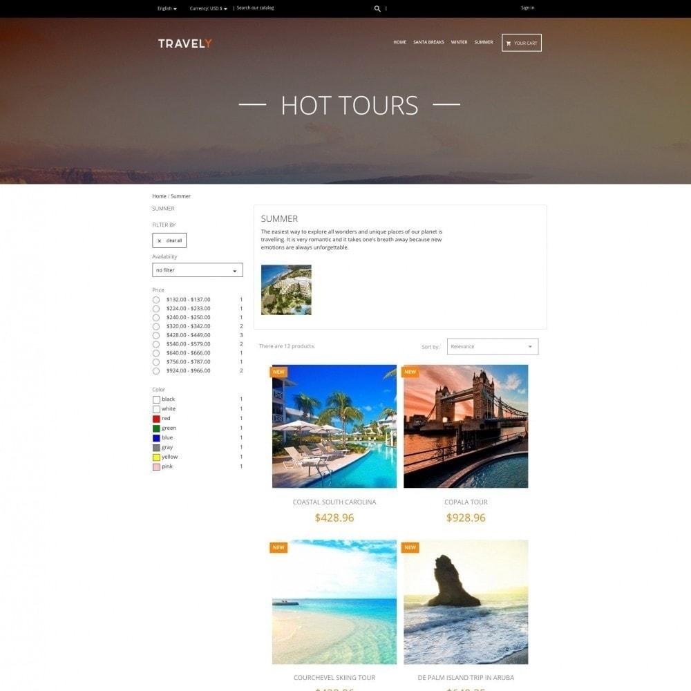 theme - Спорт и Путешествия - Travely - Туристическое агенство - 3