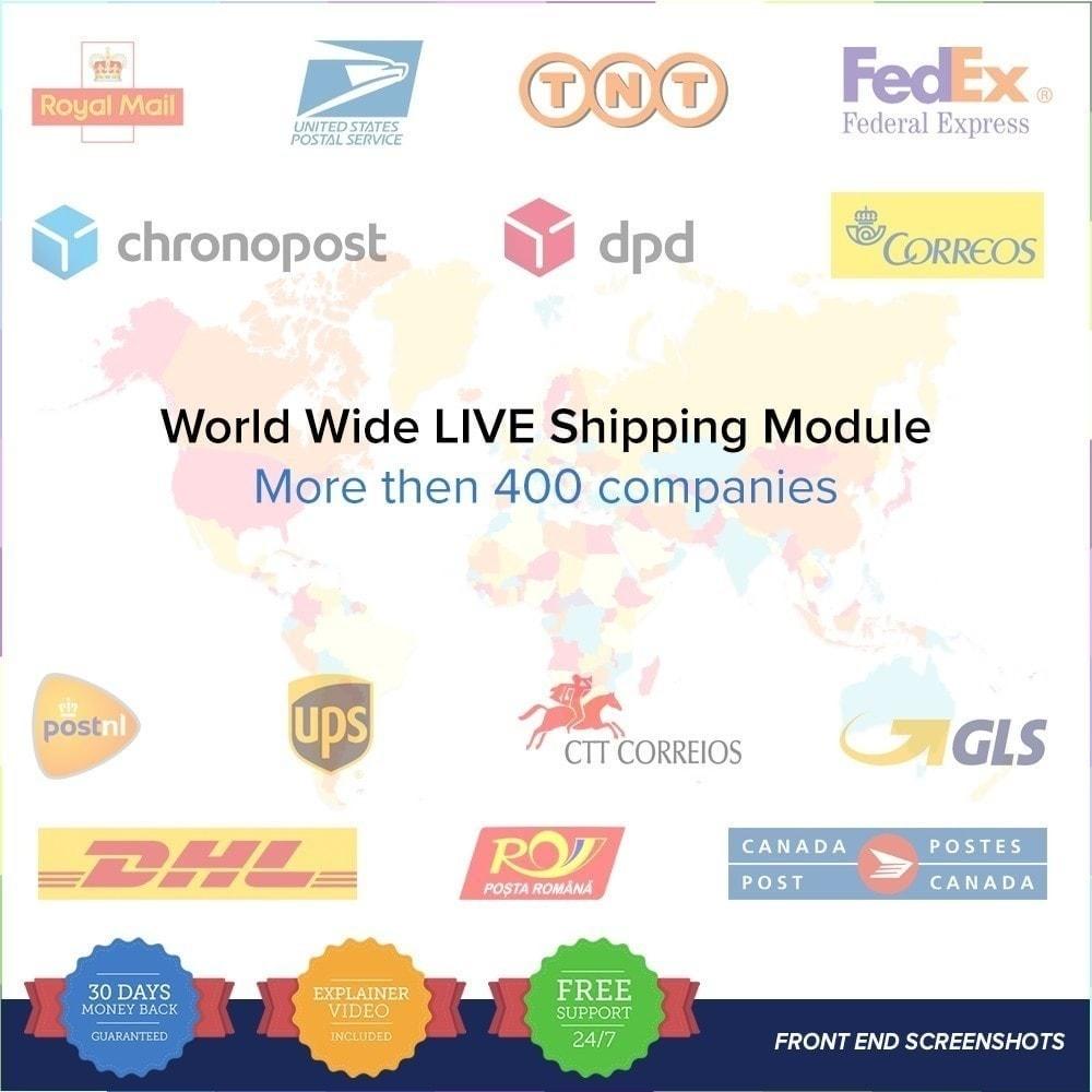 module - Suivi de livraison - LIVE Shipping/Order Tracking Multiple Carriers - 2