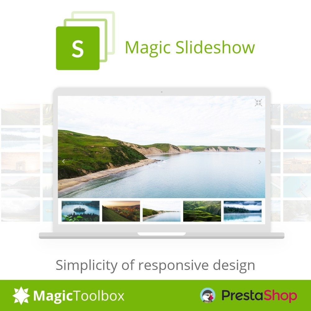module - Sliders & Galleries - Magic Slideshow - 1