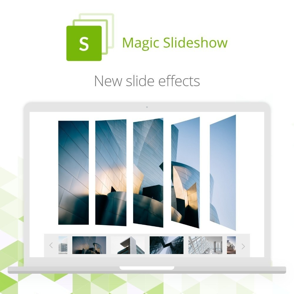 module - Slider & Gallerie - Magic Slideshow - 2