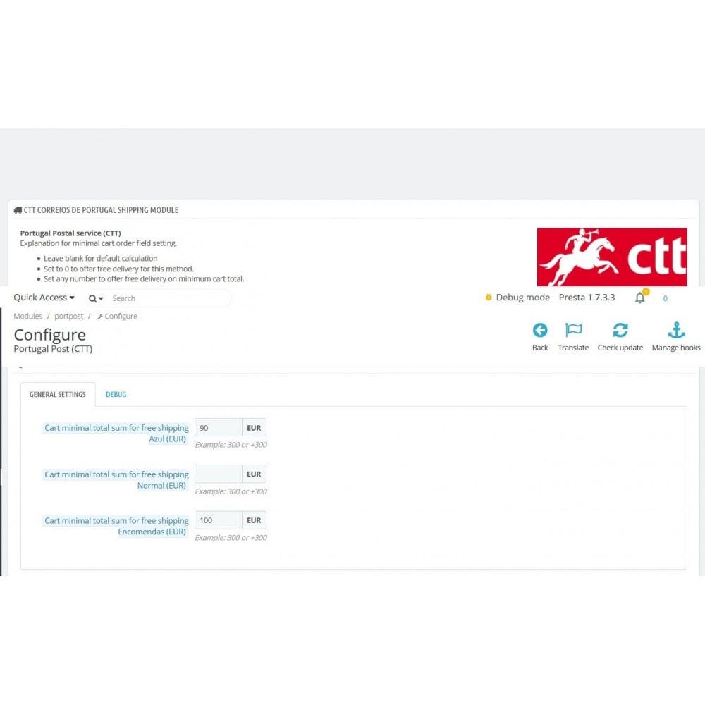 module - Kurierzy - Portugal Post (CTT) - 3