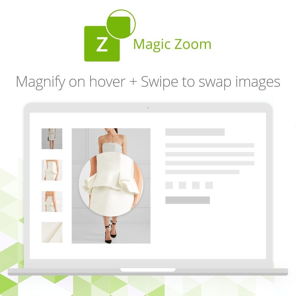 module - Visual dos produtos - Magic Zoom - 2