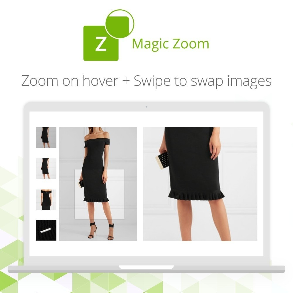 module - Visual dos produtos - Magic Zoom - 5