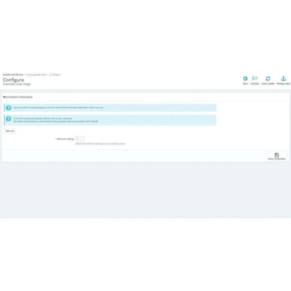 module - Information supplémentaire & Onglet produit - Automatic Cover Image - 2