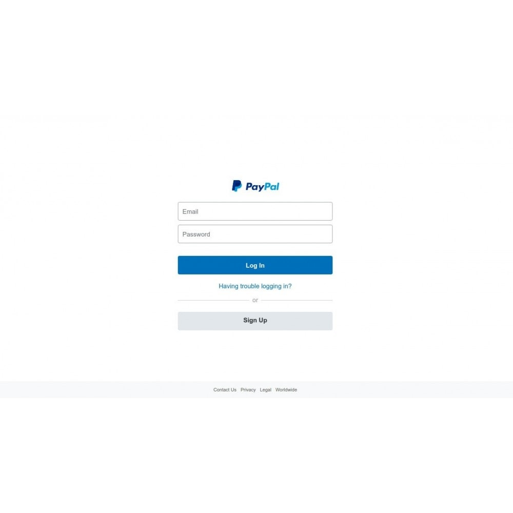 module - Creditcardbetaling of Walletbetaling - PayPal Payments Standard - 1
