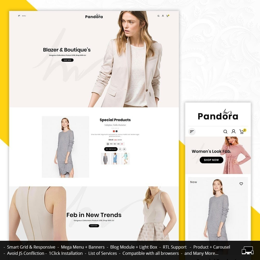 Bravo Pandora - Fashion Apparels