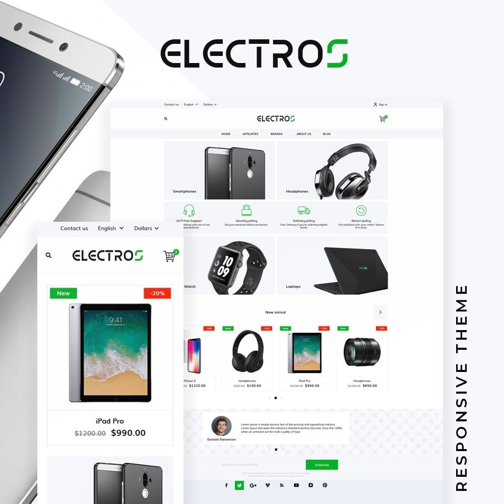 Electros - High-tech Shop