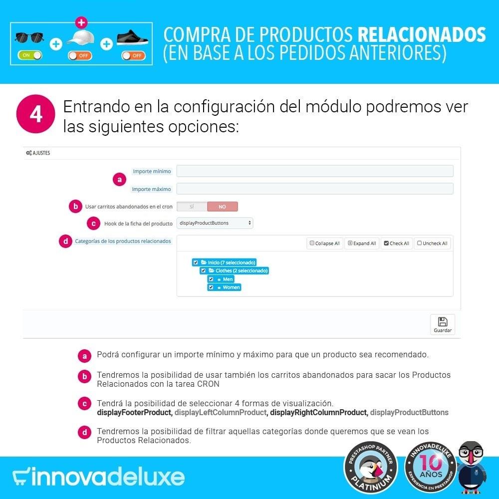 module - Ventas cruzadas y Packs de productos - Compra productos relacionados según pedidos anteriores - 8