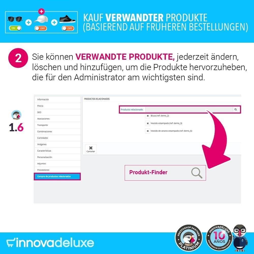 module - Cross-Selling & Produktbundles - Kauf verwandter Produkte aufgrund früherer Bestellungen - 5
