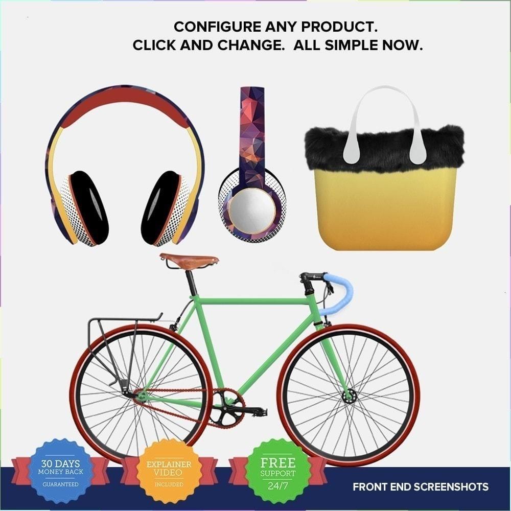 module - Combinaciones y Personalización de productos - Producto Compositor PRO - 2