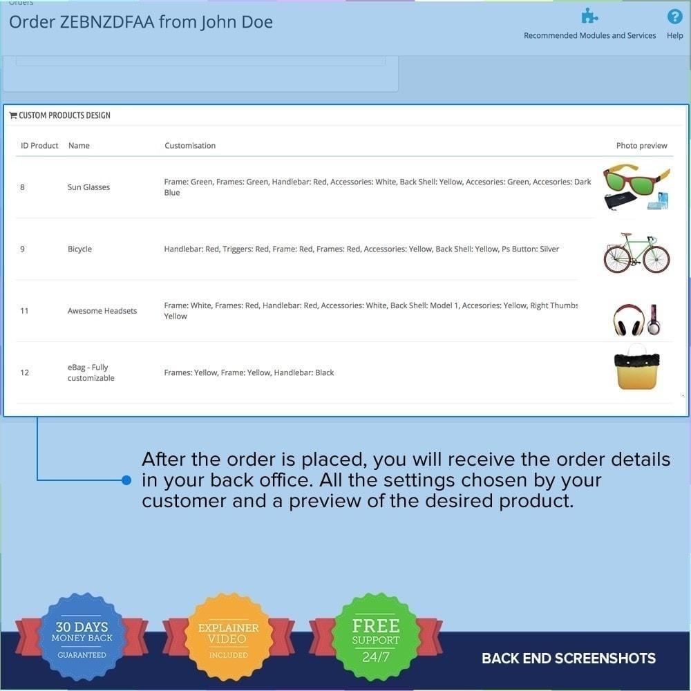 module - Combinaciones y Personalización de productos - Producto Compositor PRO - 12