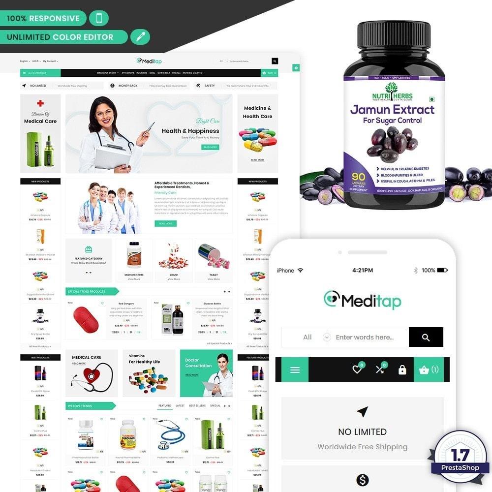 theme - Health & Beauty - MediTap – Medical Mega Mart - 1