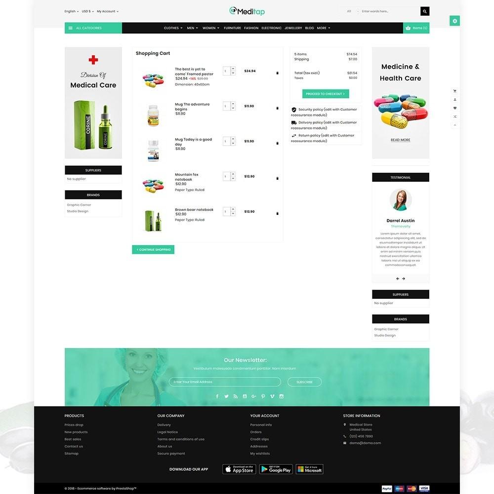 theme - Health & Beauty - MediTap – Medical Mega Mart - 4