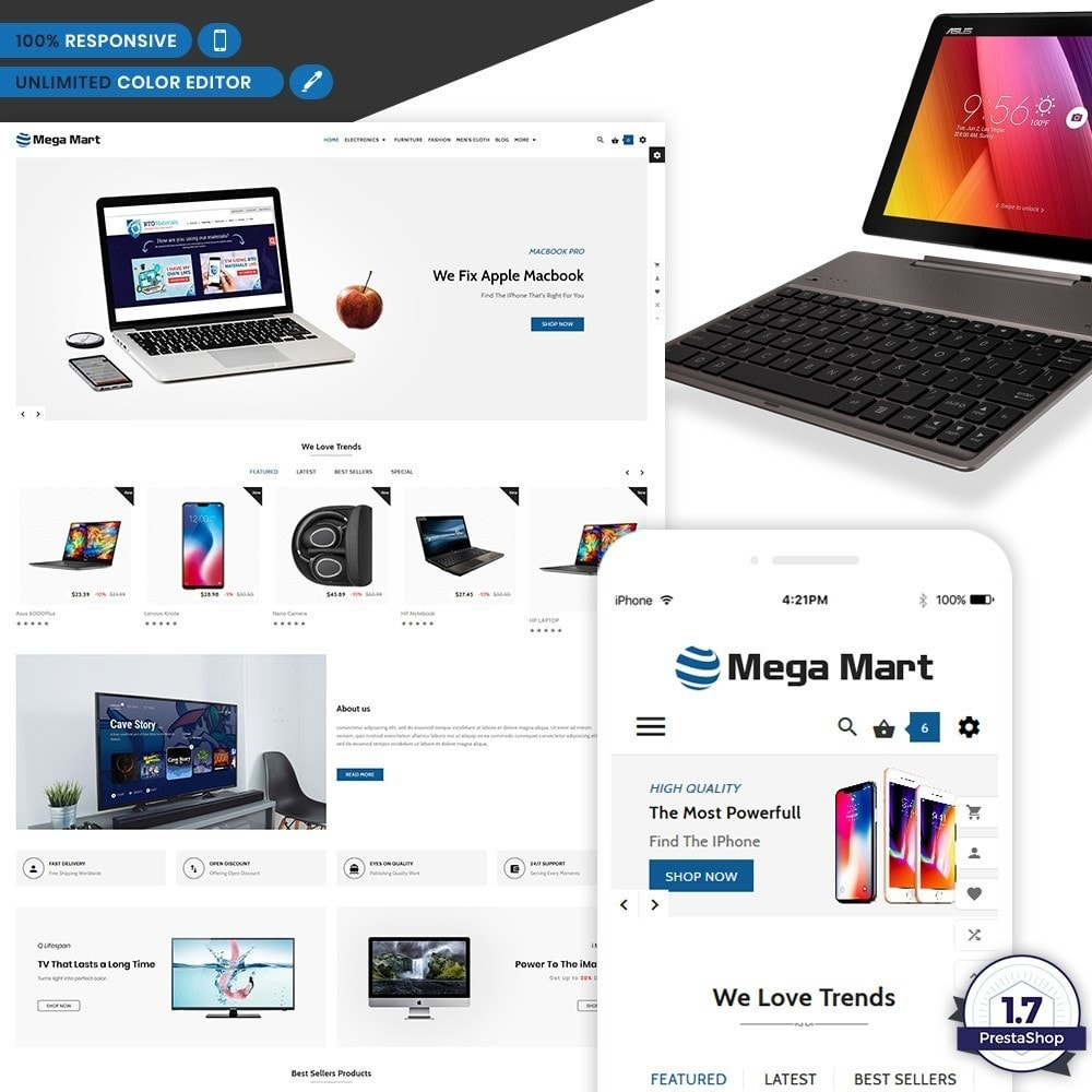 Mega Mart – Electronic Multi Shop