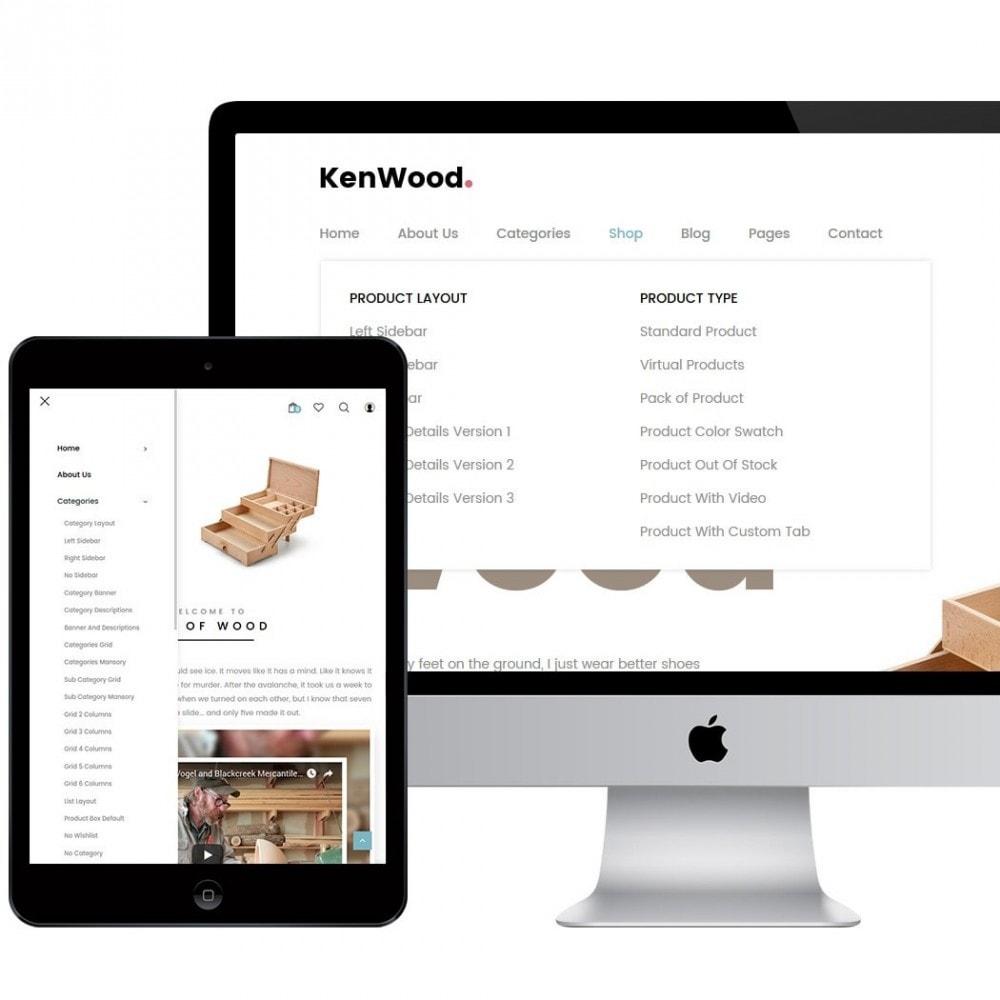 KenWood - Minimal Handmade Theme