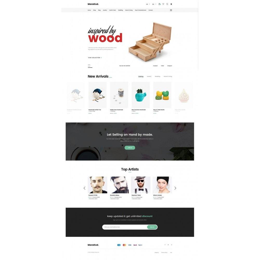 theme - Mode & Chaussures - Marakod - Minimal Handmade Theme - 8