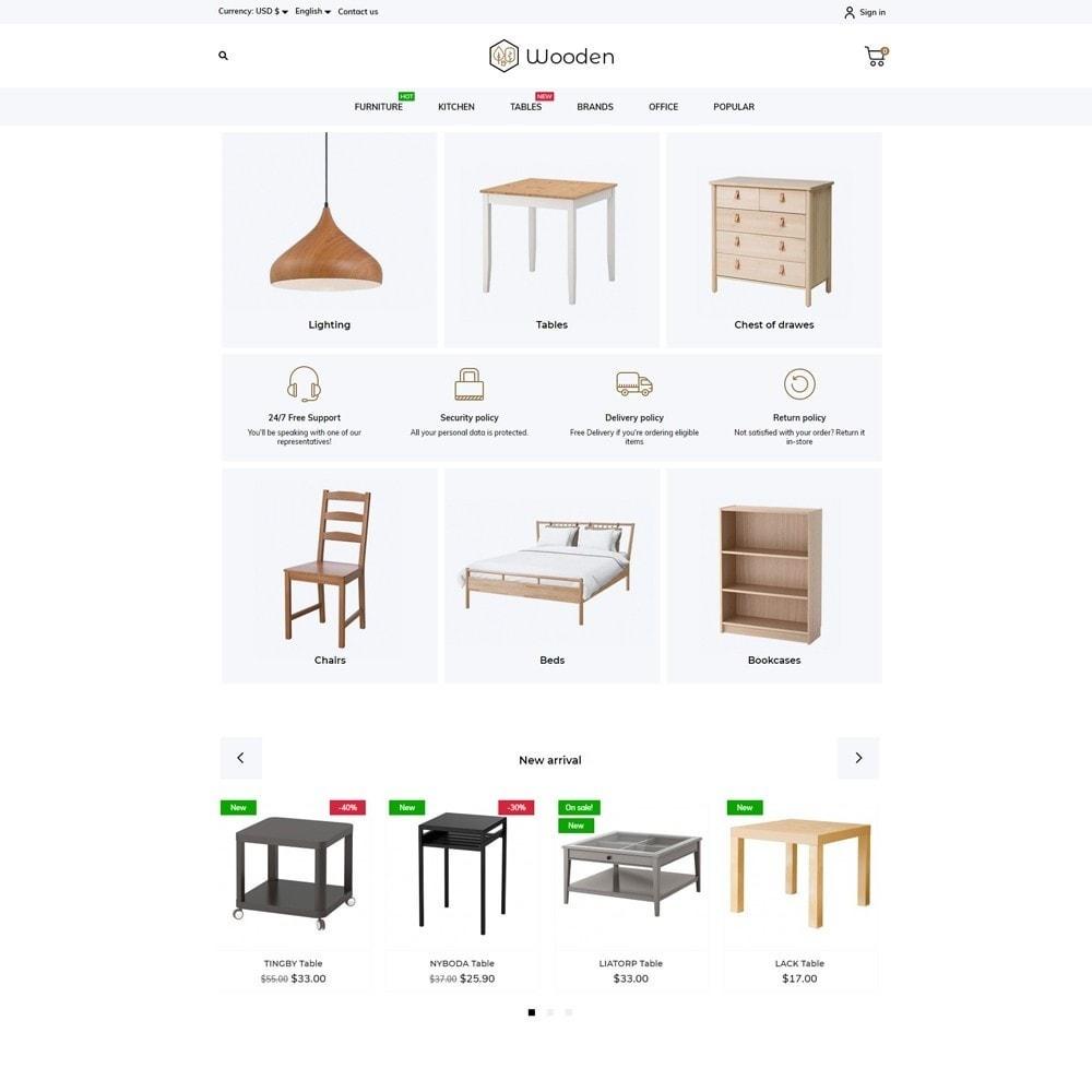 theme - Casa & Jardins - Wooden - 2