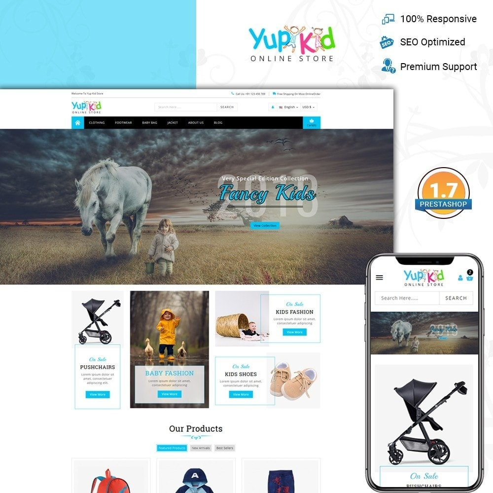 YupKid - Kid's Fashion Store