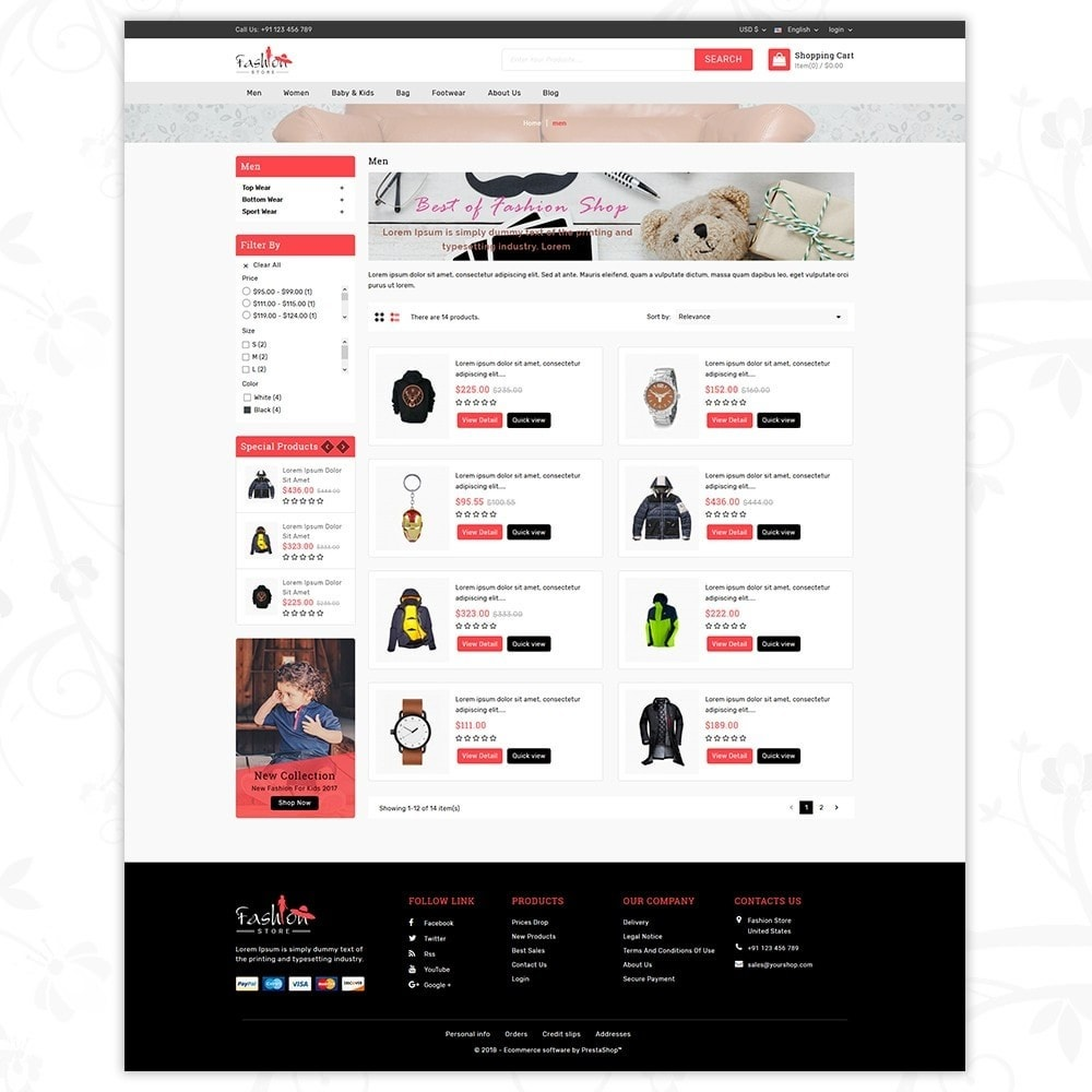 theme - Moda & Obuwie - Fashion Store - 4