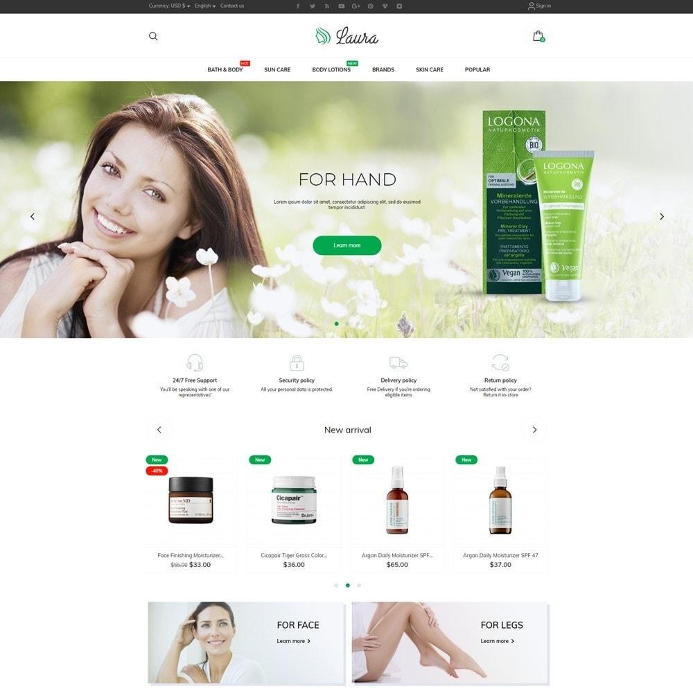 theme - Health & Beauty - Laura Cosmetics - 2