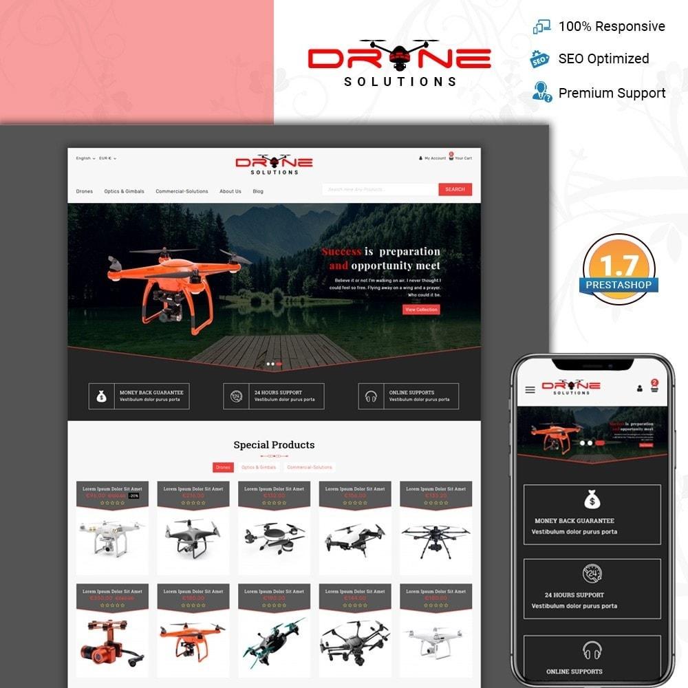 theme - Электроника и компьютеры - Drone Solutions Store - 1