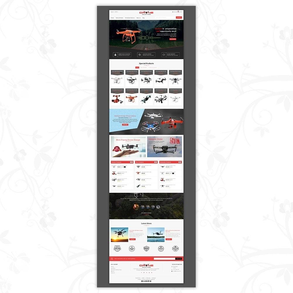 theme - Электроника и компьютеры - Drone Solutions Store - 2
