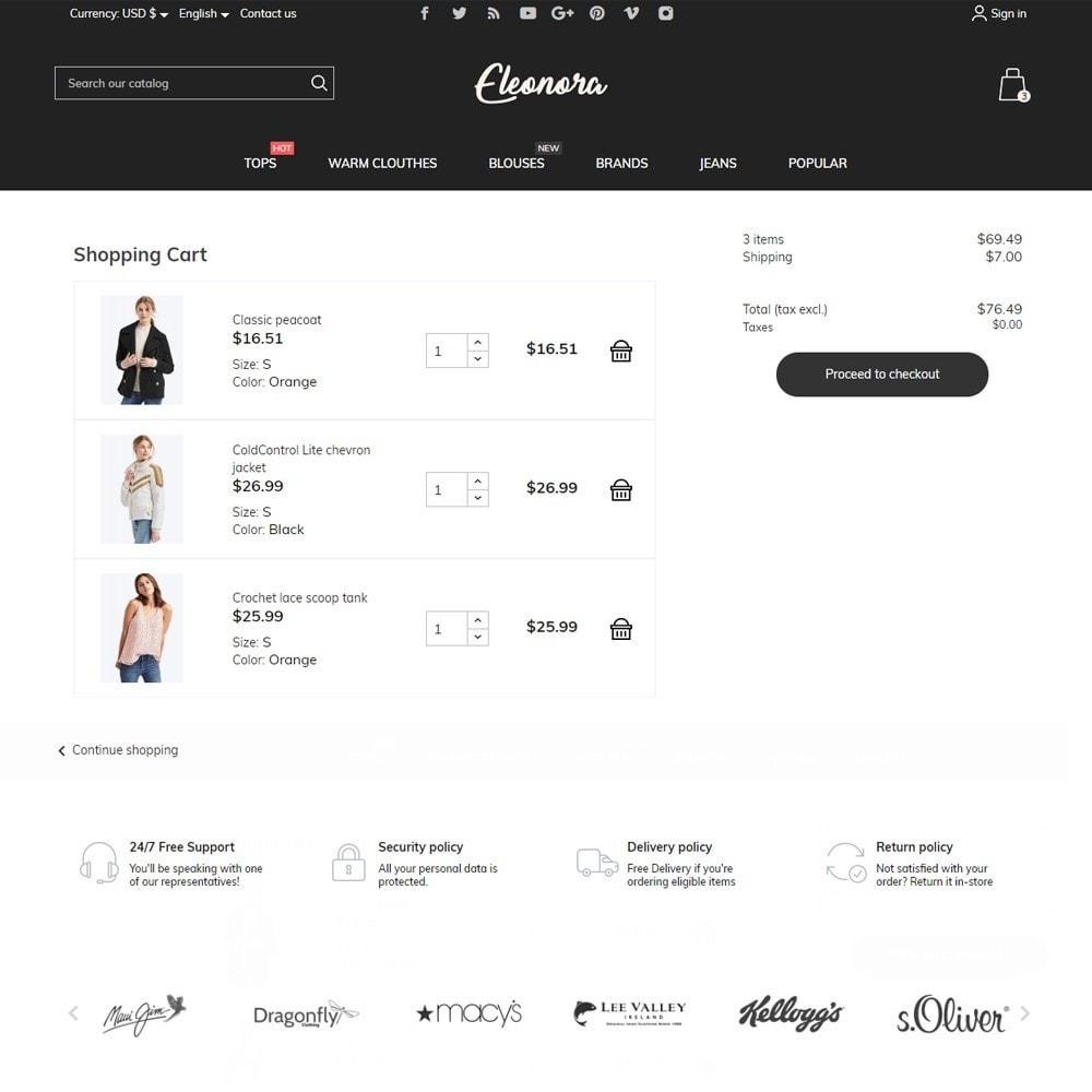 theme - Fashion & Shoes - Eleonora Fashion Store - 7