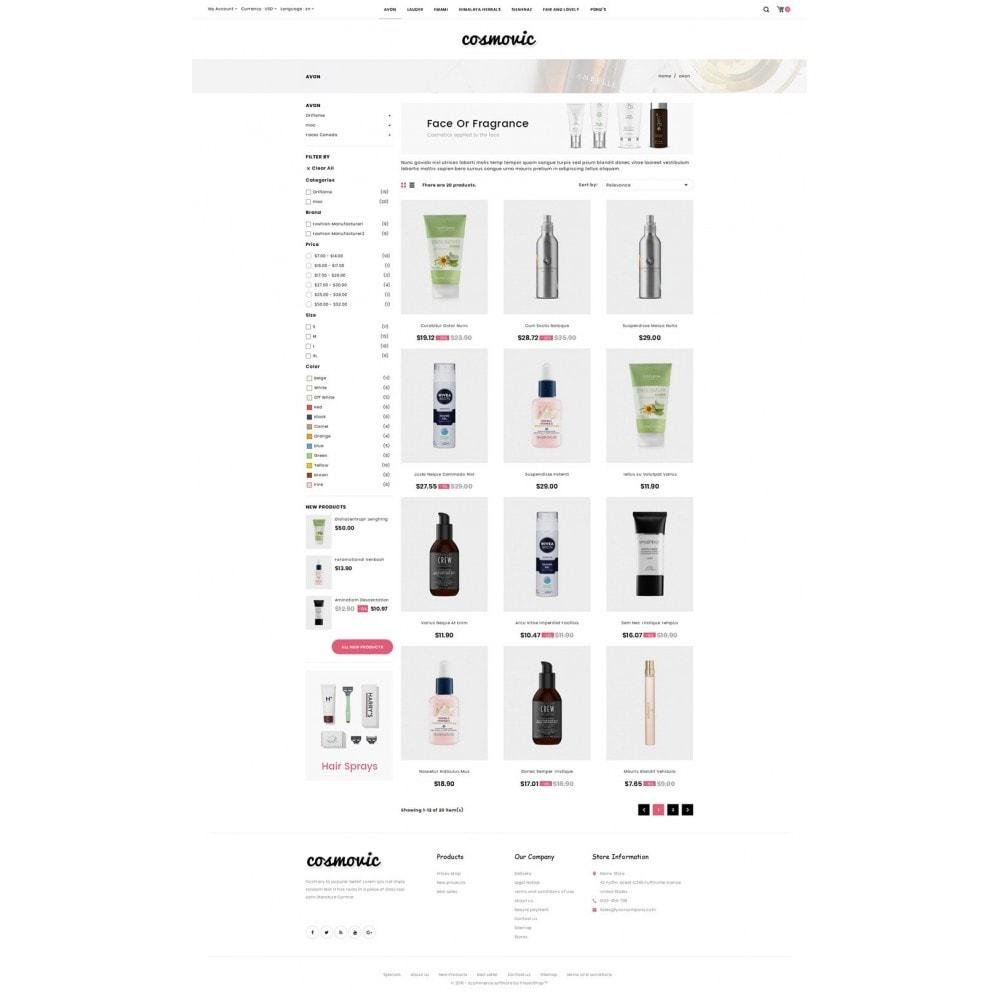 Cosmovic - Cosmetics Store