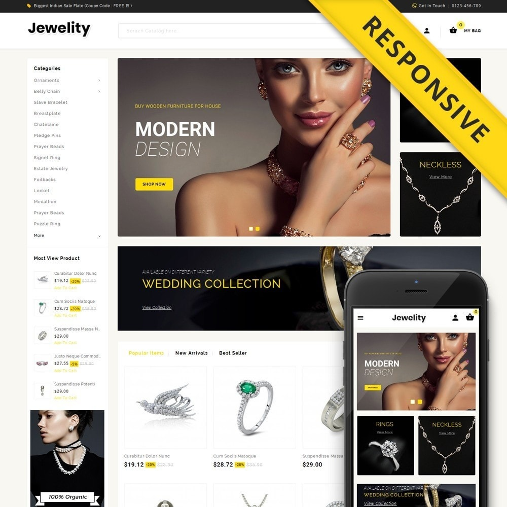 Jewelity - Jewelry Store