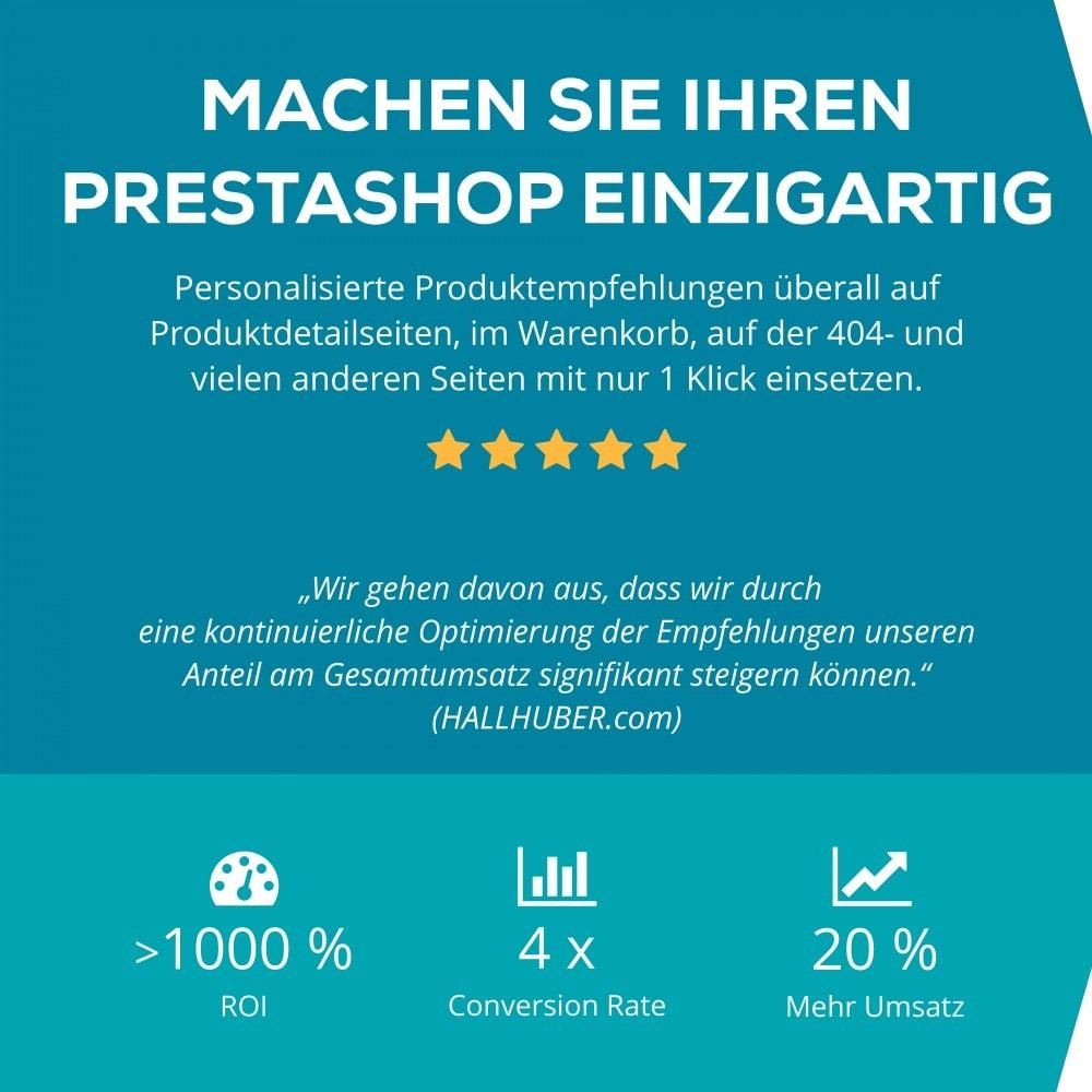 module - Remarketing & Warenkorbabbrüche - Recolize - Die Plug & Play Personalisierung - 1