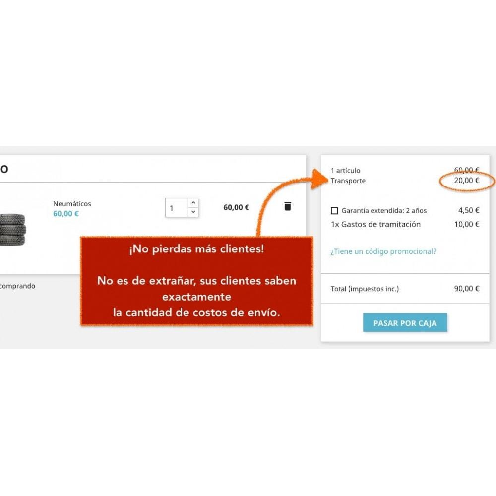 module - Gastos de transporte - Dirección de envío - Seleccione la dirección de entrega - 4