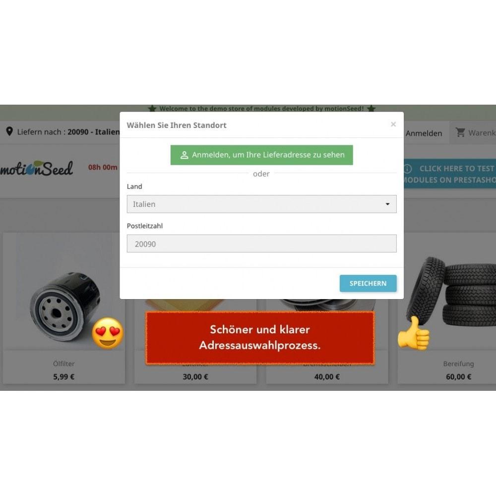 module - Versandkosten - Lieferadresse - Wählen Sie die Lieferadresse - 3