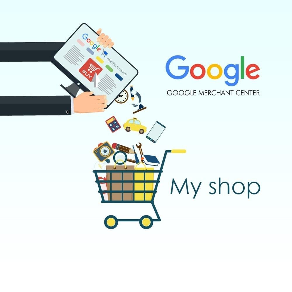 module - Comparateurs de prix - Exporter des produits dans Google Merchant Shopping - 1