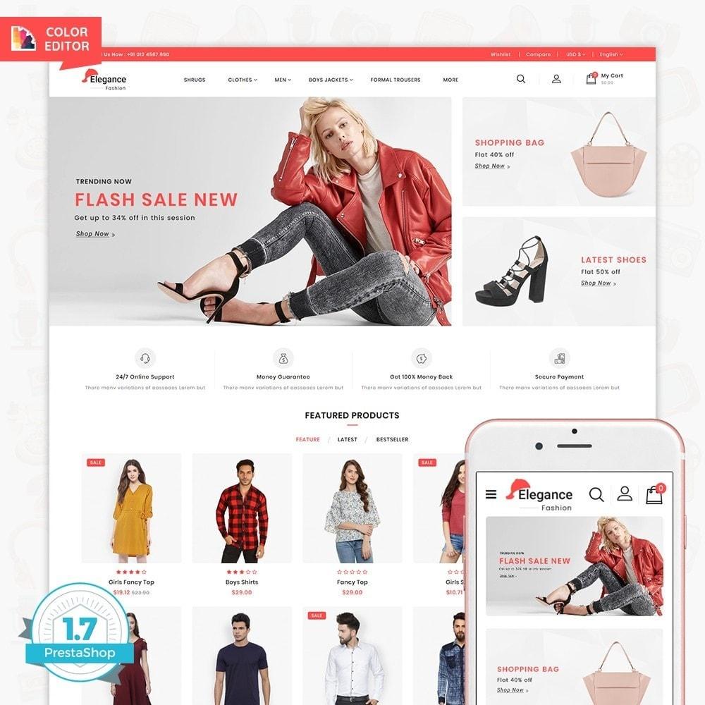 theme - Fashion & Shoes - Elegance The Fashion Store - 1