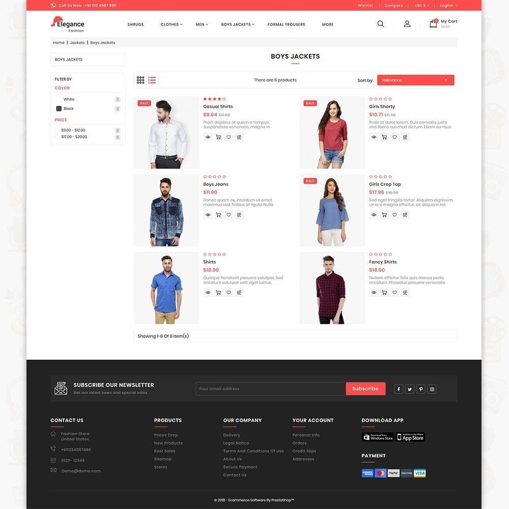 theme - Fashion & Shoes - Elegance The Fashion Store - 4