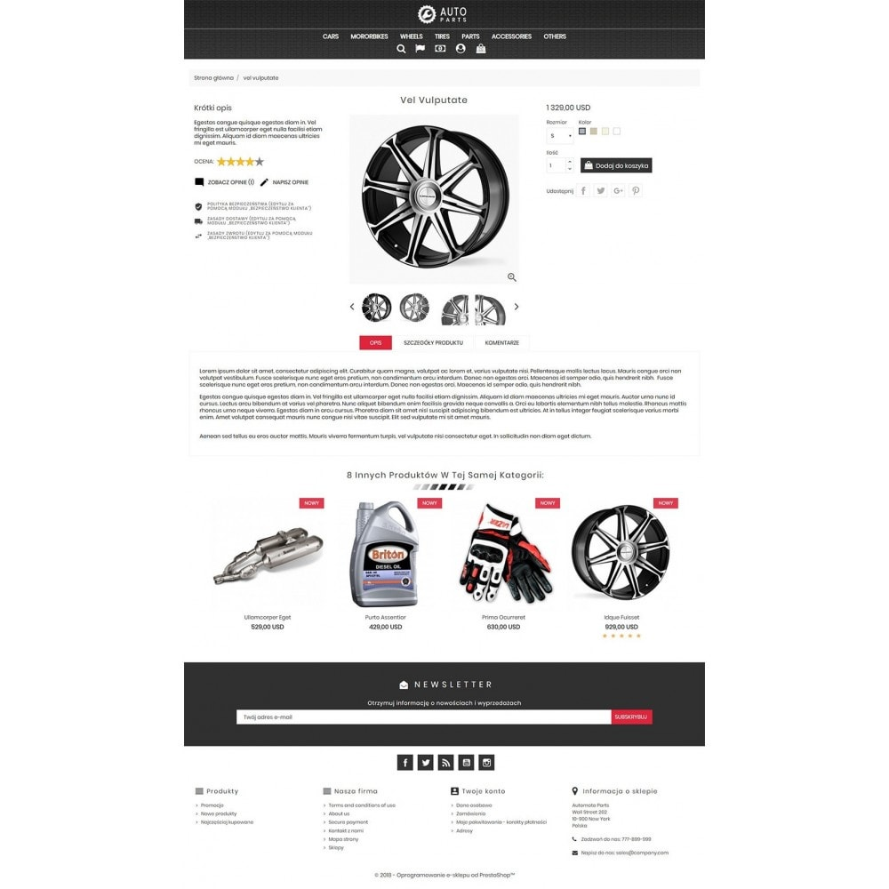 theme - Samochody - Auto Moto Parts - 4