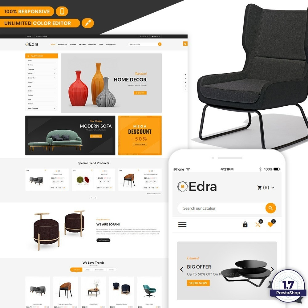 Edra - Furniture Mega Mart