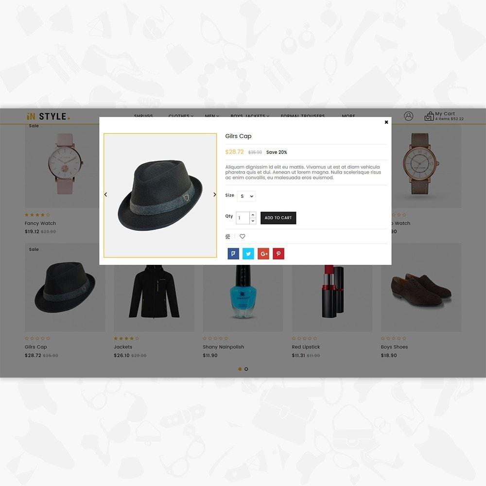 theme - Fashion & Shoes - InStyle Shop Store - 6