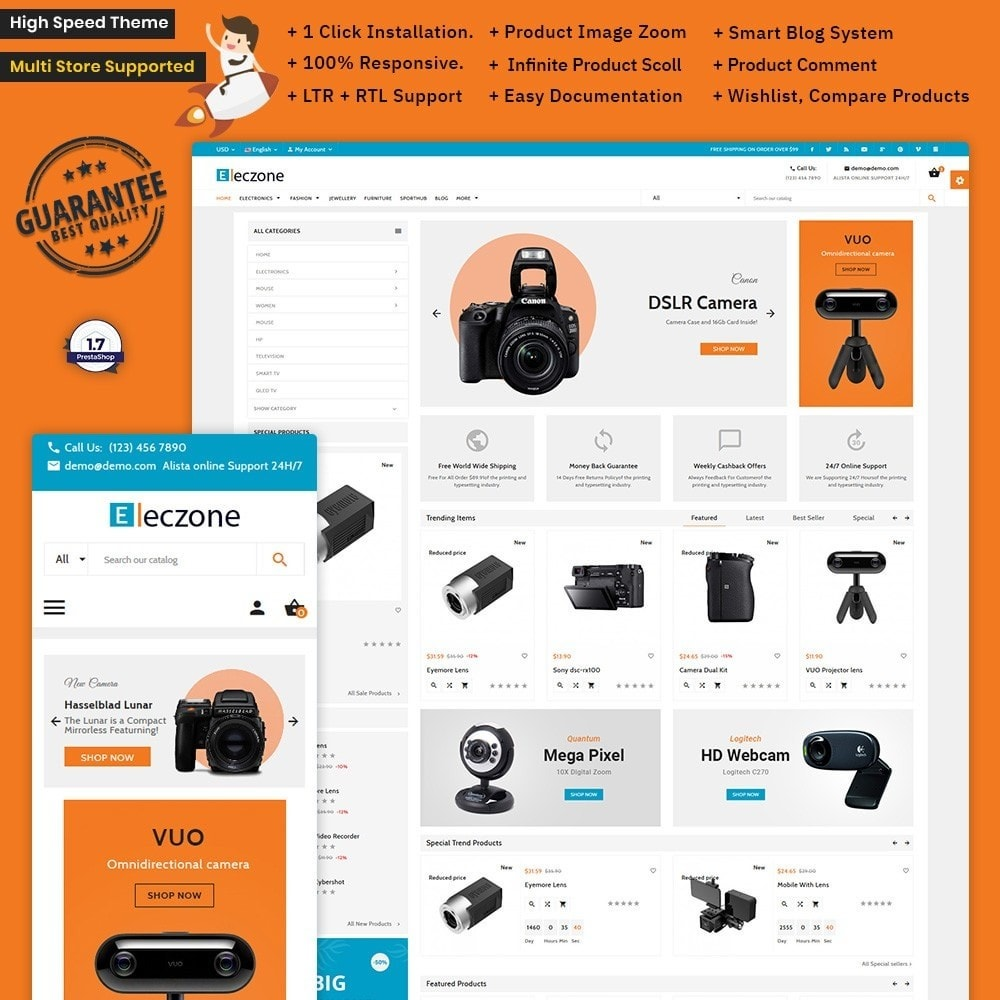 Eleczone –Digital Electronic Store