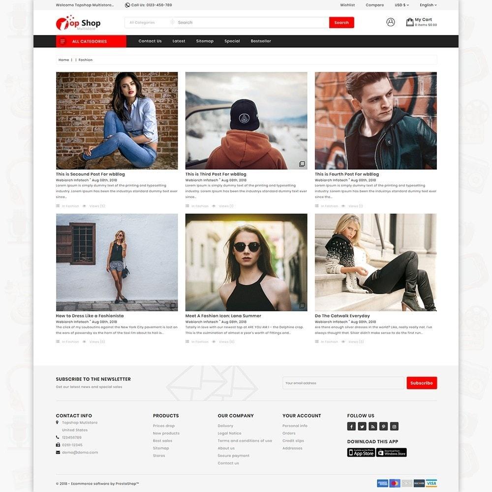 TopShop  - Online Shopping Mart