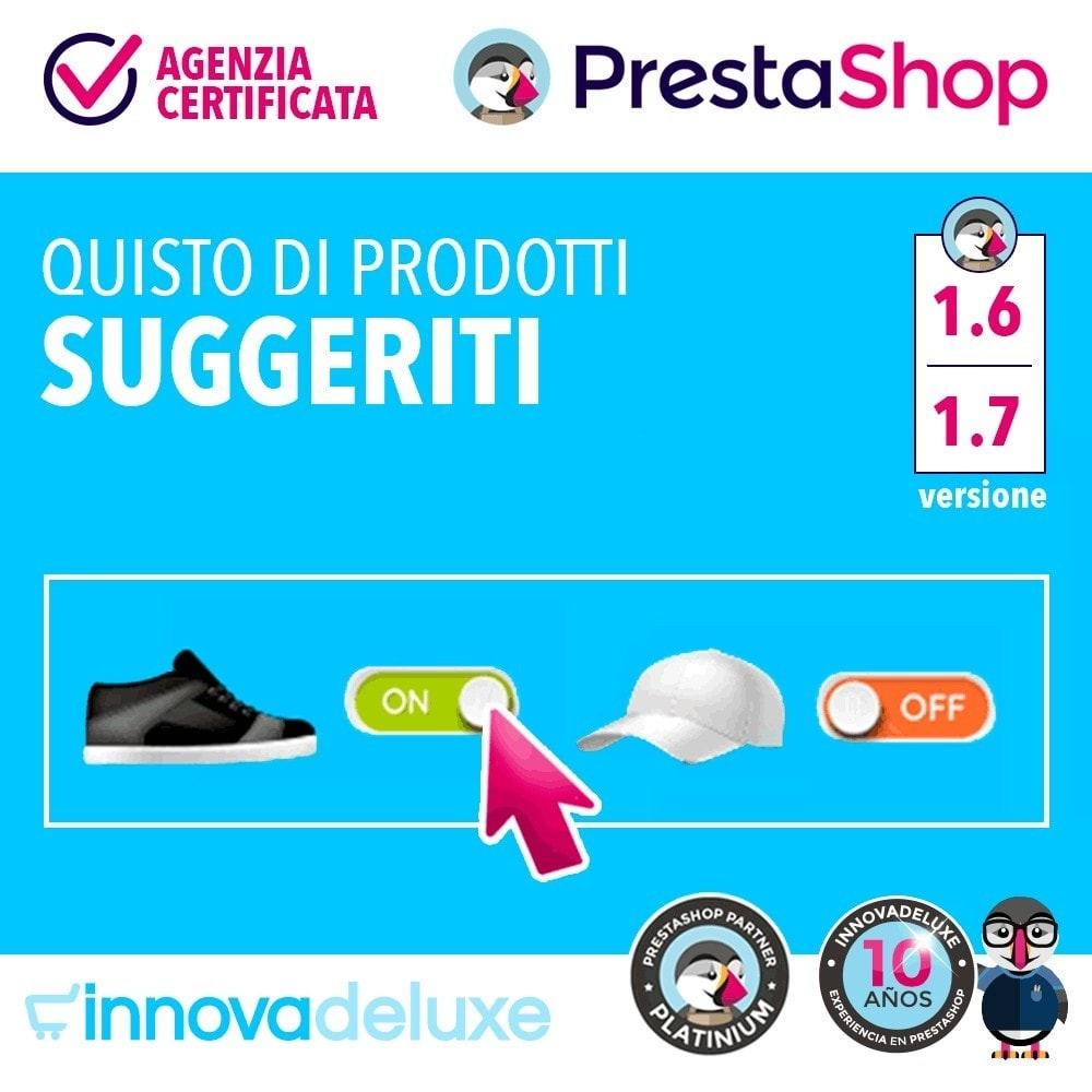 module - Cross-selling & Product Bundle - Prodotti suggeriti per l'acquisto d'impulso - 1
