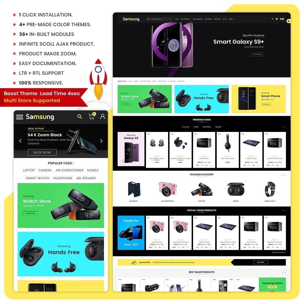 Electro– Electronic Boost Large Shop